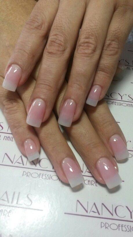 """Love this natural """"real nail"""" acrylic look! - Pin By Day Ayala On Nails Pinterest Nail Nail, Natural Nails And"""