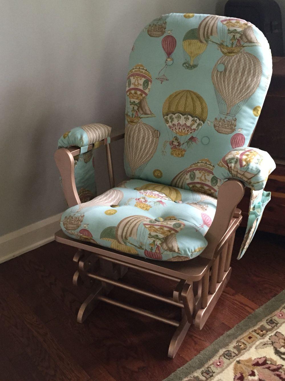 Nursery Glider Makeover 20 Secondhand Chair Rustoleum