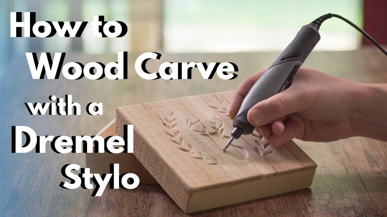 How To Wood Carve Power Carve With The Dremel Stylo Youtube In 2020 Dremel Wood Carving Dremel Carving Wood Carving Patterns
