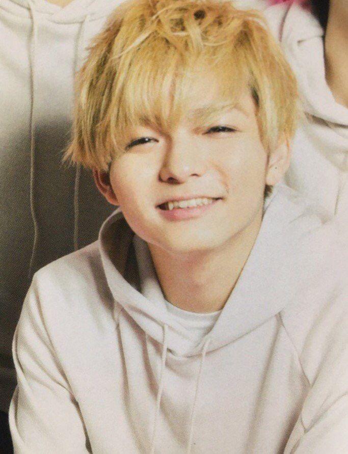 この笑顔もかわいい薮宏太
