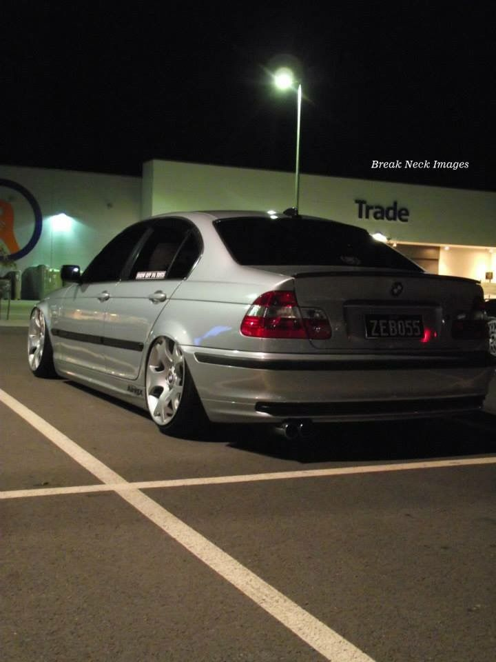 Bmw E46 M3 Sedan Modified Slammed Bagged Stance With Images