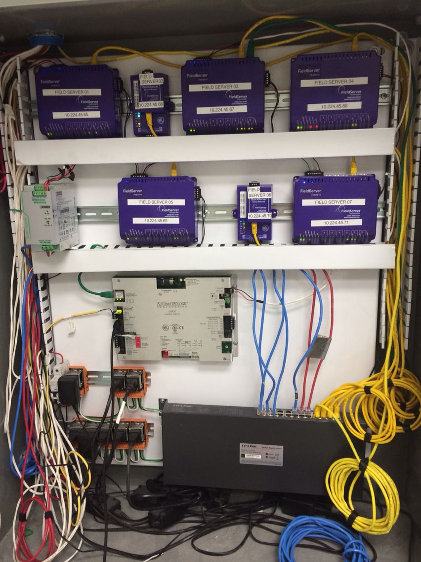 Fieldserver Application For Integration Into An Emerson Deltav Of Wiring Vav Box Hvac Units A Genset