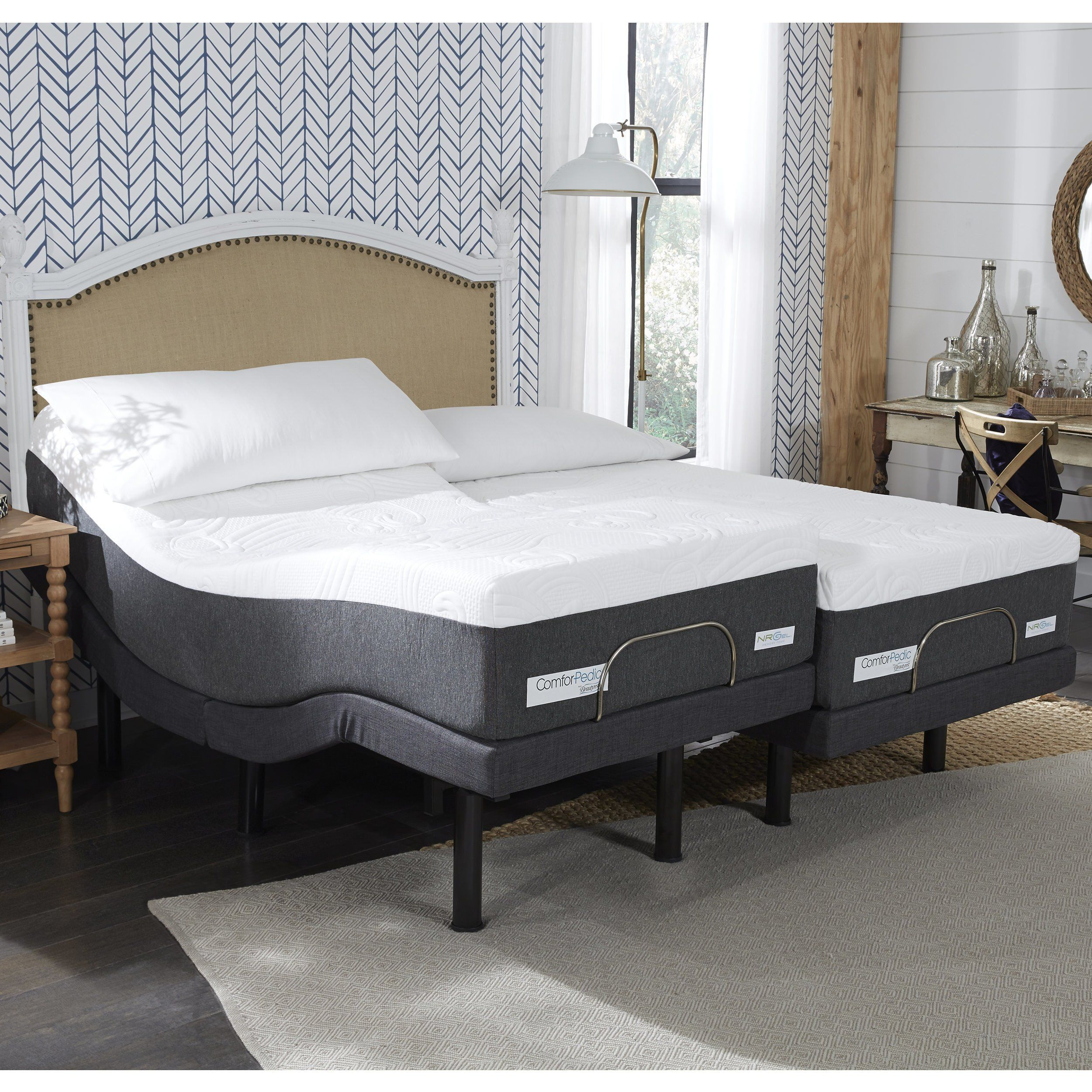 ComforPedic from BeautyRest 12inch NRGel Mattress and