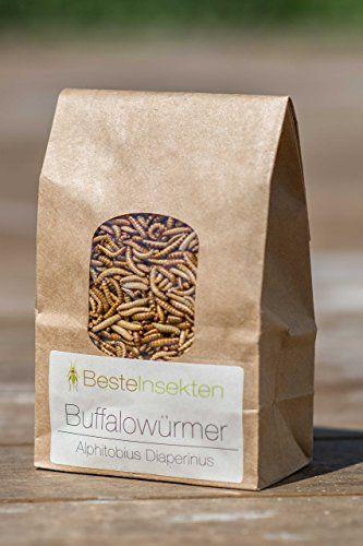 Essbare Buffalowürmer, gefriergetrocknet, 50 g Amazonde