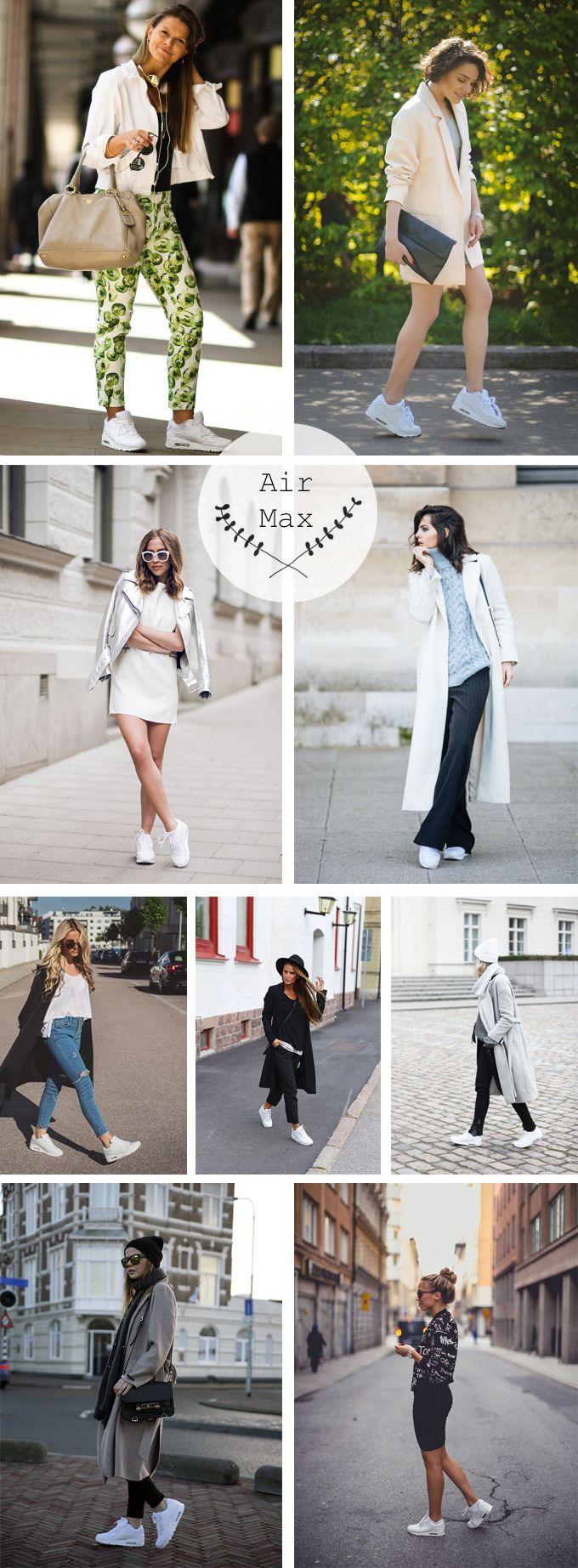 Zapatillas deportivas blancas inspiraci n outfits con for Inspiracion sinonimo