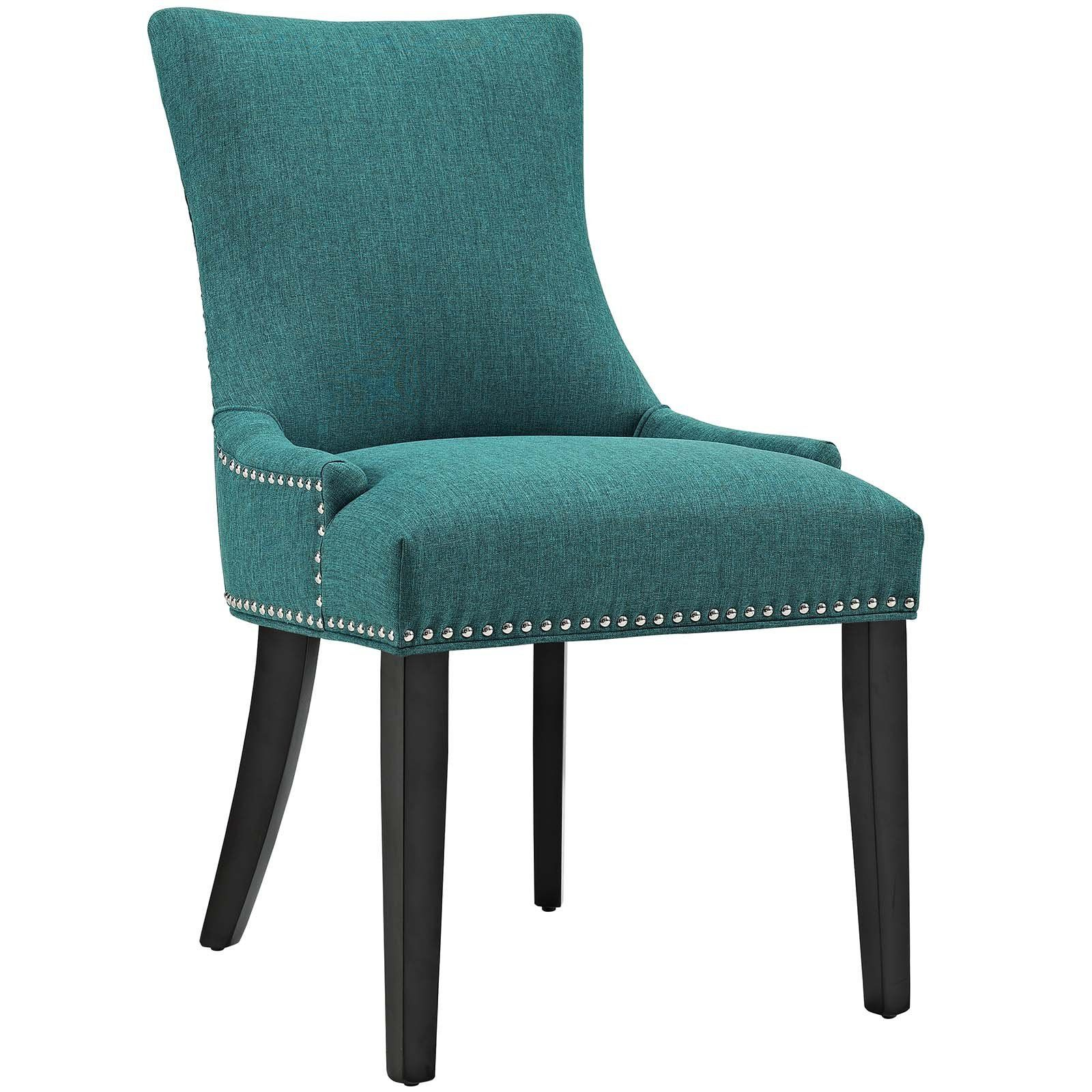 Modway Furniture Modern Marquis Dining Side Chair Fabric Set Of