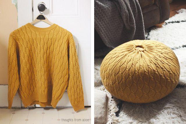 timeless design a64b4 56e3a Riutilizzare i maglioni di lana in 25 idee creative ...
