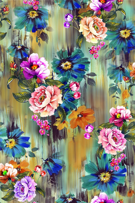 Paintingflower designdigital print blisse design studio