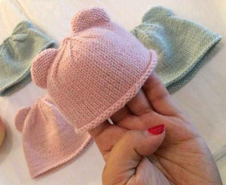 Photo of Kostenloses Muster für kleine Frühchenhüte  #fruhchenhute #kleine #knittingmo…