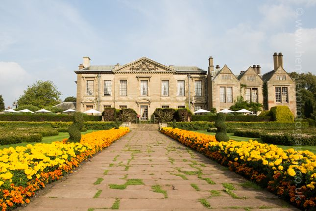 The Rear Gardens Of Coombe Abbey Wedding Venue Photography By Martin Hemsley
