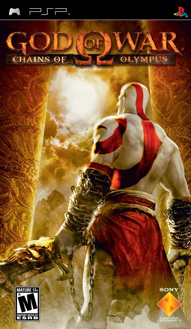 God Of War Chains Of Olympus Europe Psp God Of War Kratos God Of War Playstation Portable