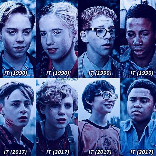 The Losers Club In 1990 And 2017 Pick One Then Or Now Like Tag