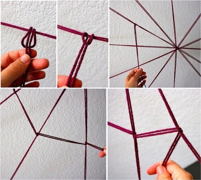 Spinnweben selber machen: 3 einfache Anleitungen und eine Menge Ideen #diyhalloweendéco