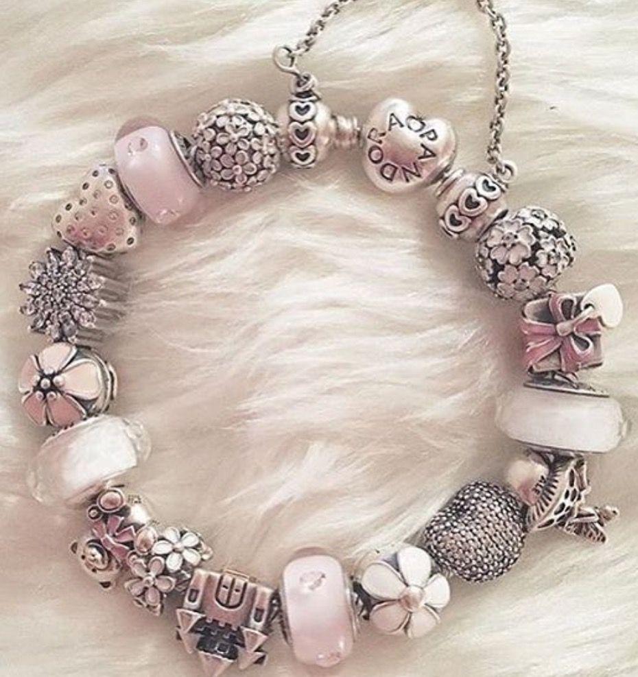 Pin By Dotti Obert On Pandora Pandora Bracelet Pink Pandora Bracelet Designs Pandora Bracelet Charms