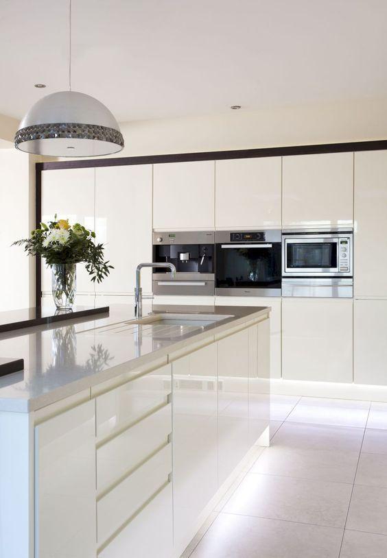 15 Elegant Contemporary Kitchen Ideas Handles Handles Handles in
