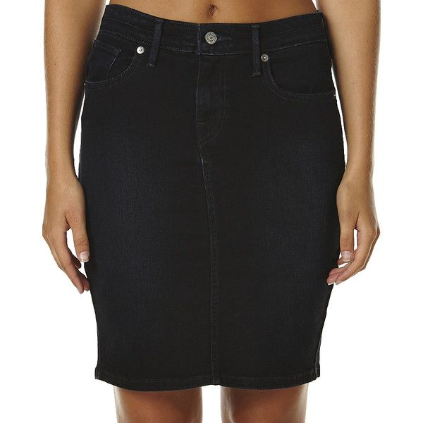 Levi's Workwear Womens Pencil Skirt (40 AUD) ❤ liked on Polyvore ...