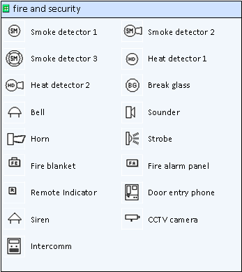 Fire Alarm Symbols Alarms Jules Bartow Communications