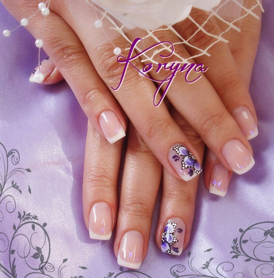 My Nails Uv Gel Nails 1 Nail Jewels Simple Nails Glitter Gel Nails