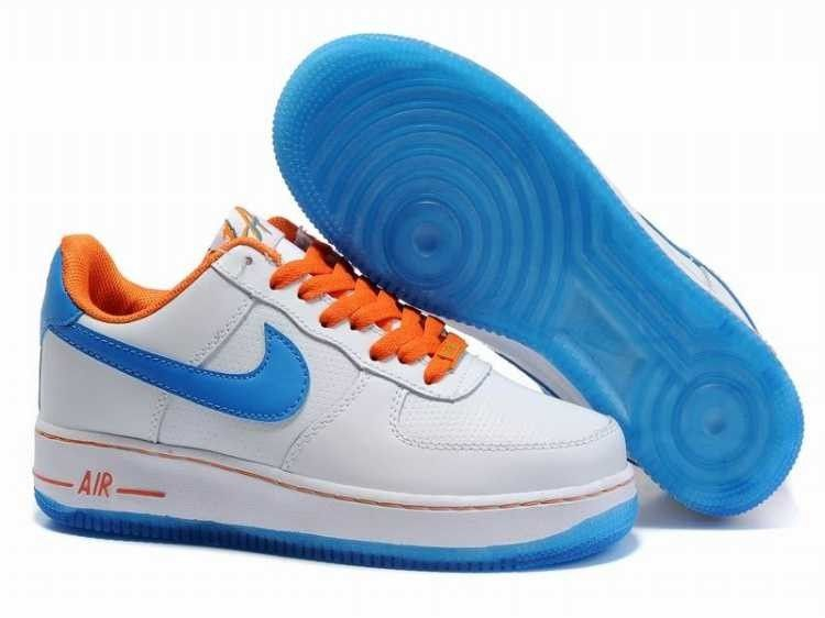 air force 1 bleu et orange