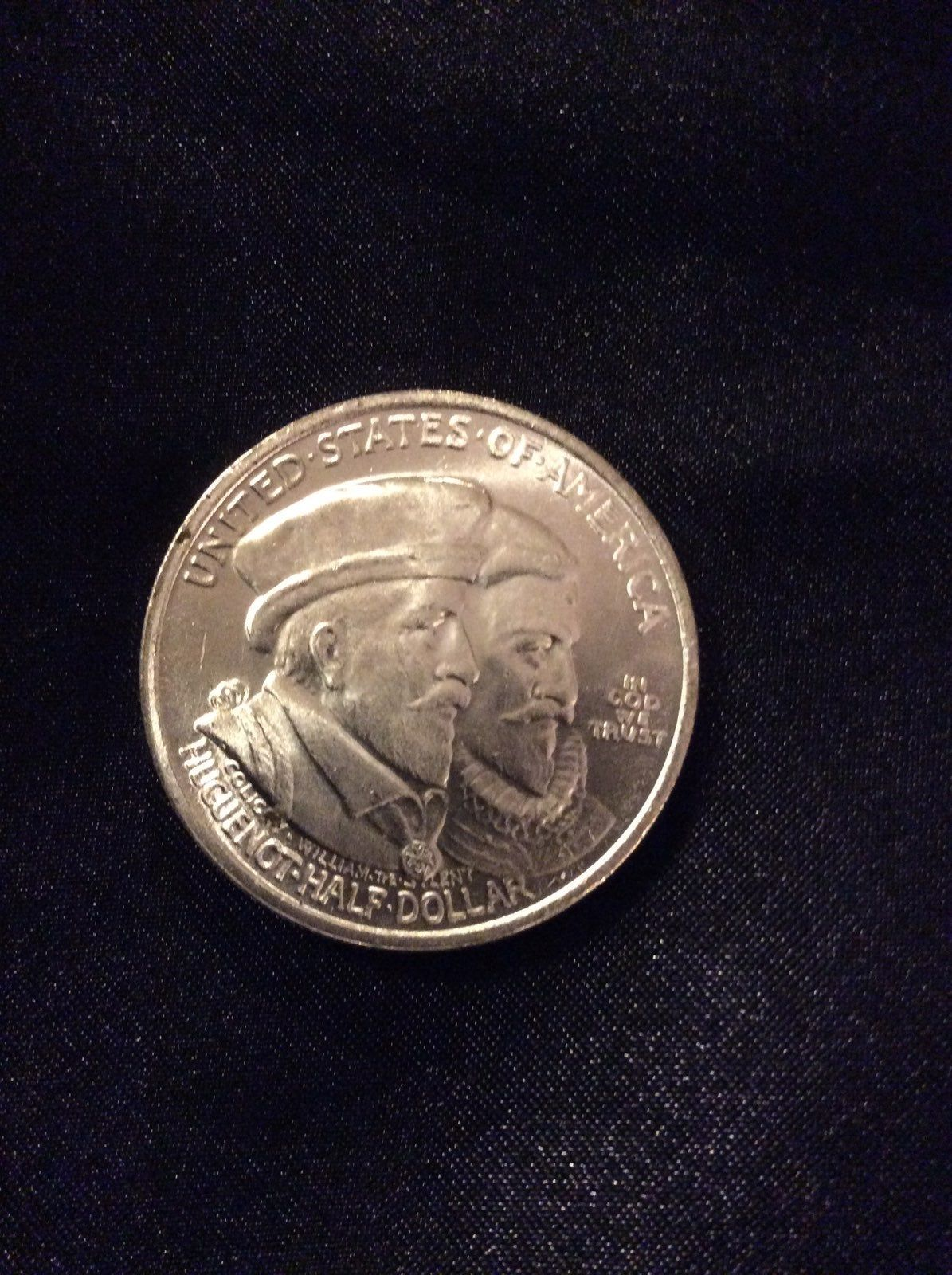 1924 tribute silver coin celebrate the founding of New
