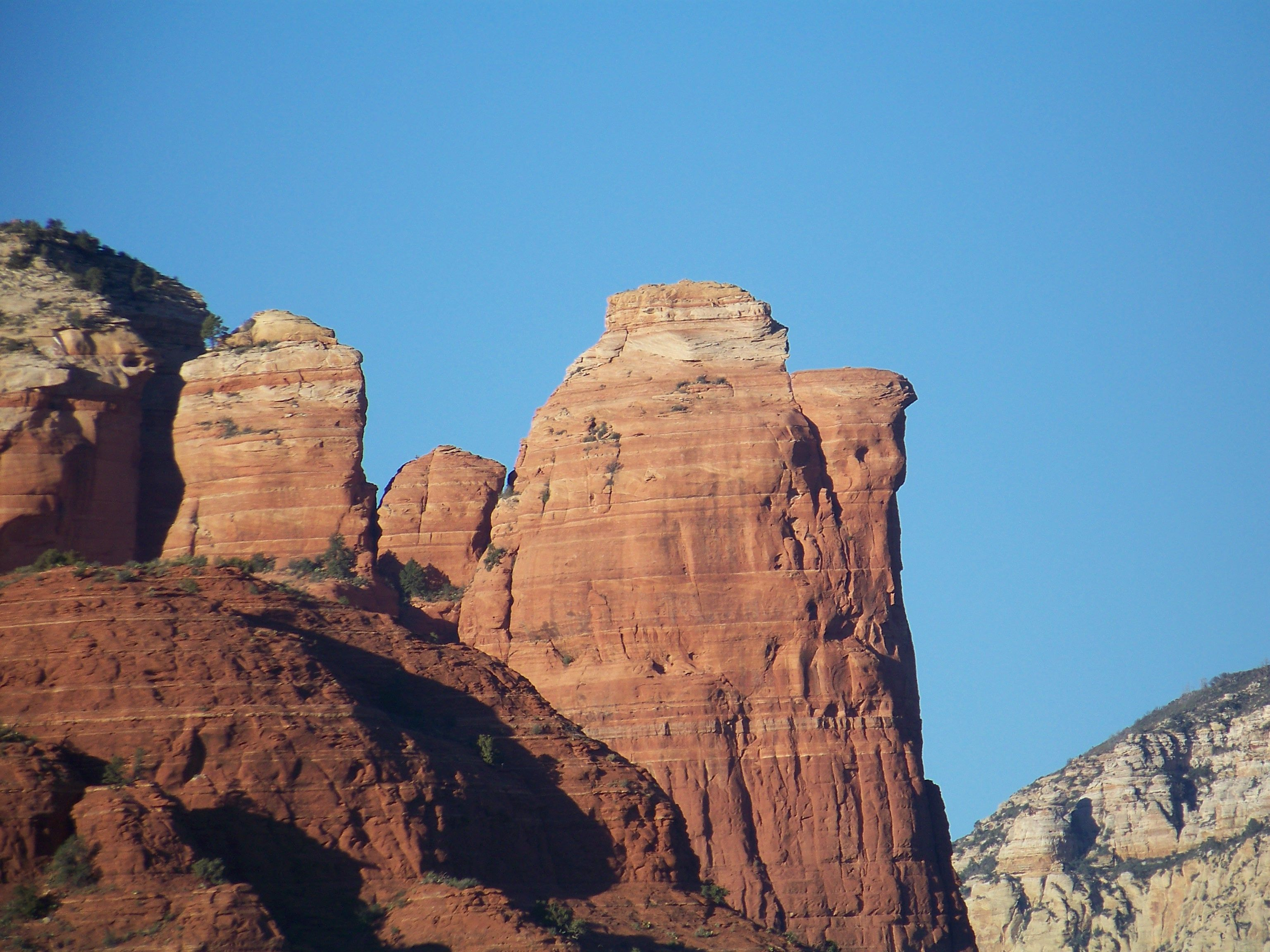 Coffee Pot Mountain in Sedona, AZ by Lisa Byrd Arizona