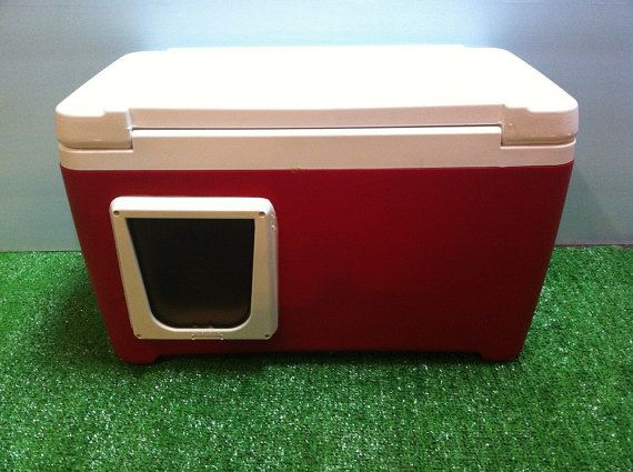 Heated Cat Pod Outdoor Cat House Condo Shelter Bed Insulated Kitty Tube Cabin Outdoor Cat House Feral Cat Shelter Cat House