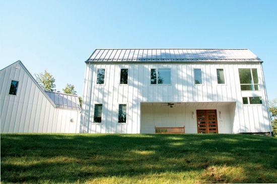 Photos Of Metal Construction Including Pics Of Commercial Buildings With Metal Are Found In Our Gallery Of Photos Of Commercia Standing Seam Roof Metal Roof Residential Metal Roofing