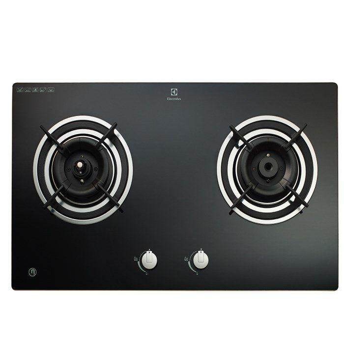 Electrolux Built In Smart Gas Cooker Hob Egt7526ck 5kw 2 Burners Gas Cooker Cooker Hobs Stoves Cookers