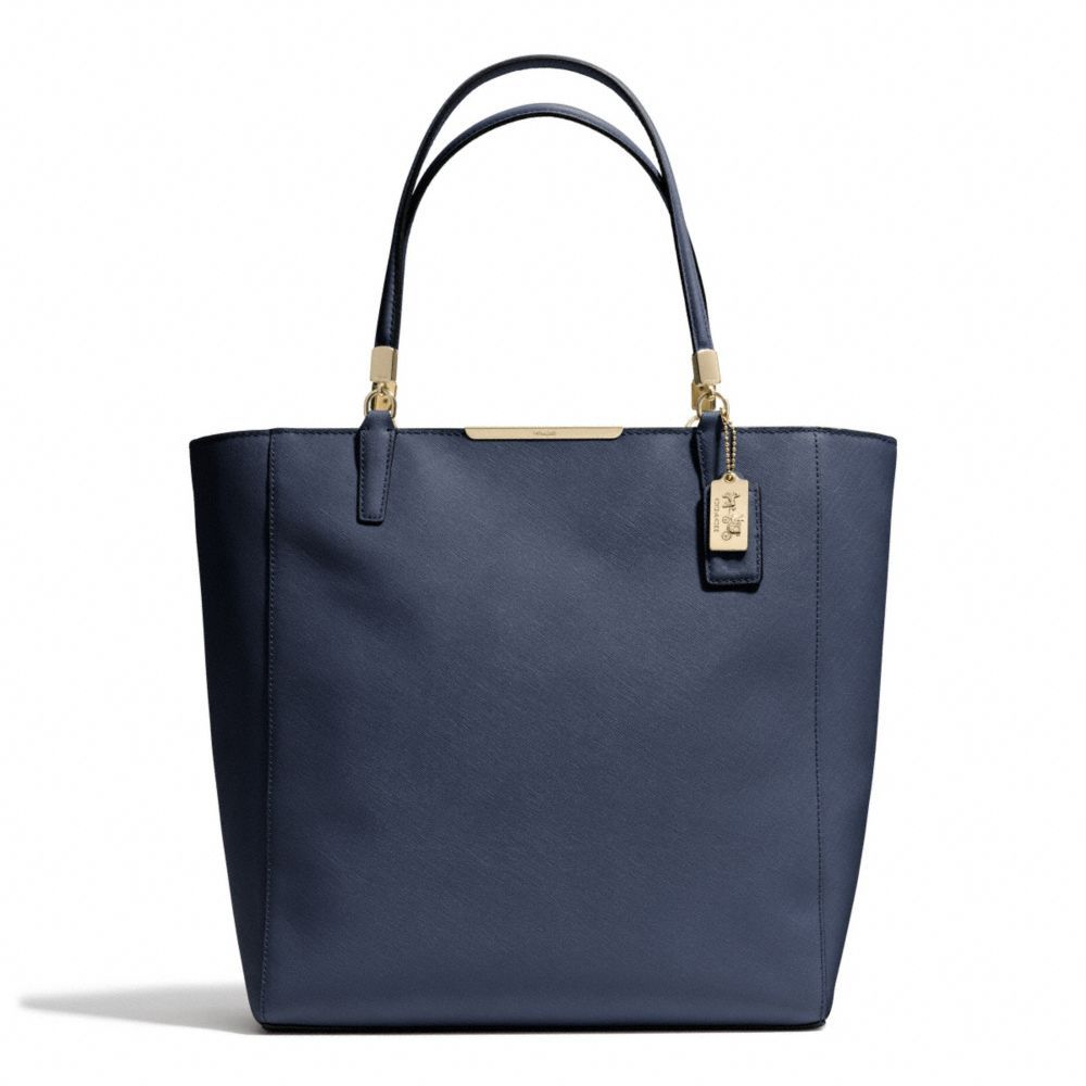 Love this bag!!  The Madison North/south Tote In Saffiano Leather from Coach