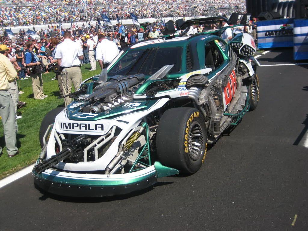 Dale Earnhardt Car After Crash Toy