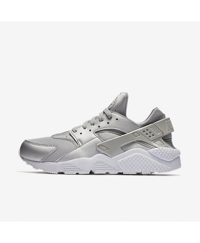 innovative design ee8b2 98f80 Nike Air Huarache Premium Metallic Silver Pure Platinum White Metallic  Silver 704830-008