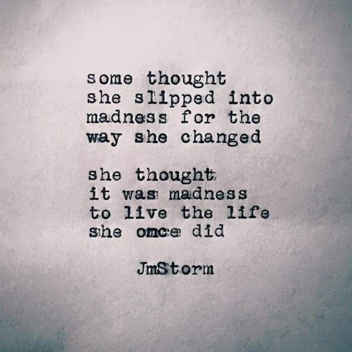 Madness - JM Storm # jmstorm | Quotes. | Storm quotes ...