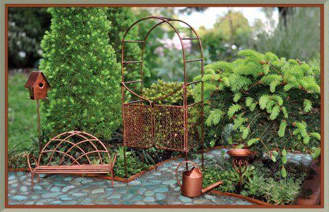 fiddlehead fairy garden kit