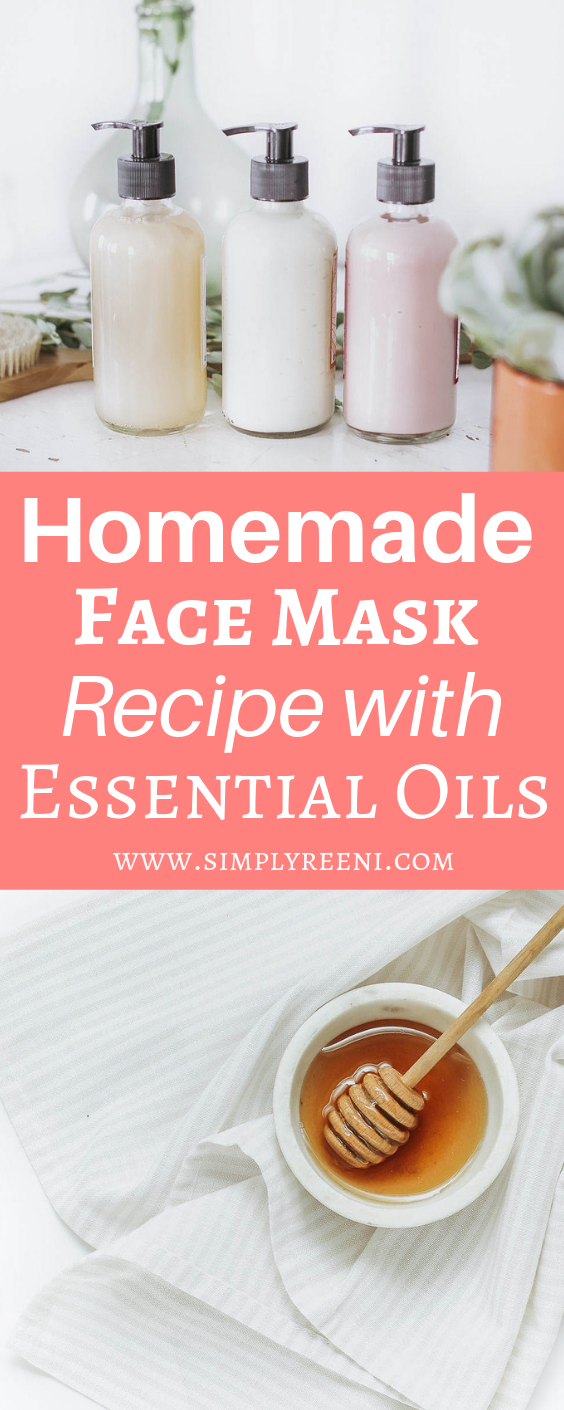 Photo of Homemade Face Mask Recipe with Essential Oils