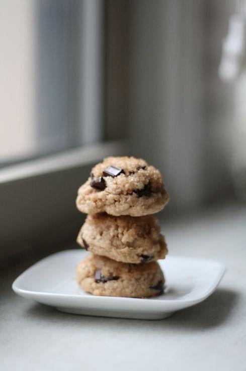 healthy choc. chip cookies
