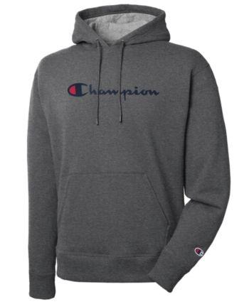 dbe241cbd5b6 Champion Men Script Logo Powerblend Hoodie in 2019   Products ...