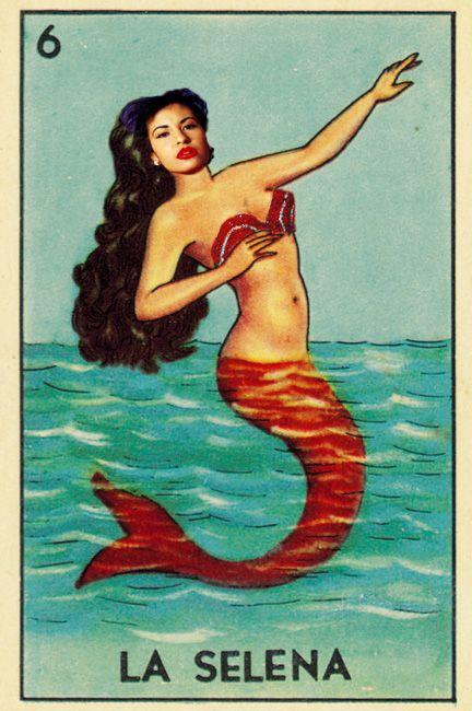 La Selena By Thatshitcue Selena Quintanilla Loteria Card