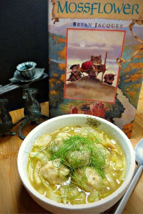 Photo of The Redwall Series: Fennel & Celery Stew with Hazelnut Dumplings