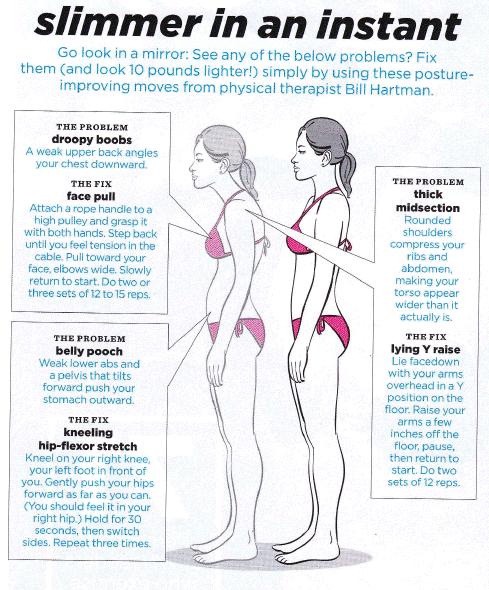 exercises to fix bad posture