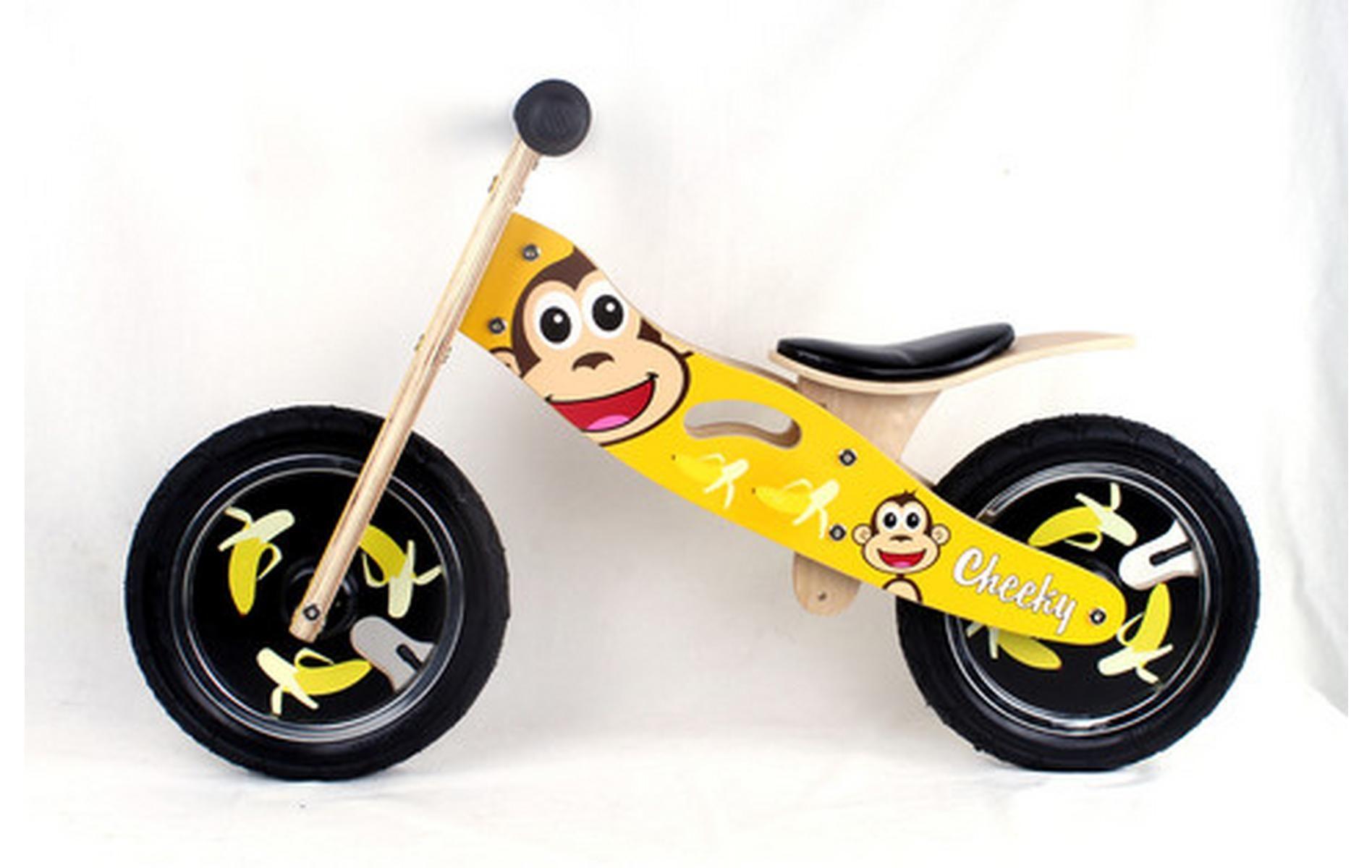 Kidzmotion Cheeky Wooden Balance Bike First Bike Running Bike