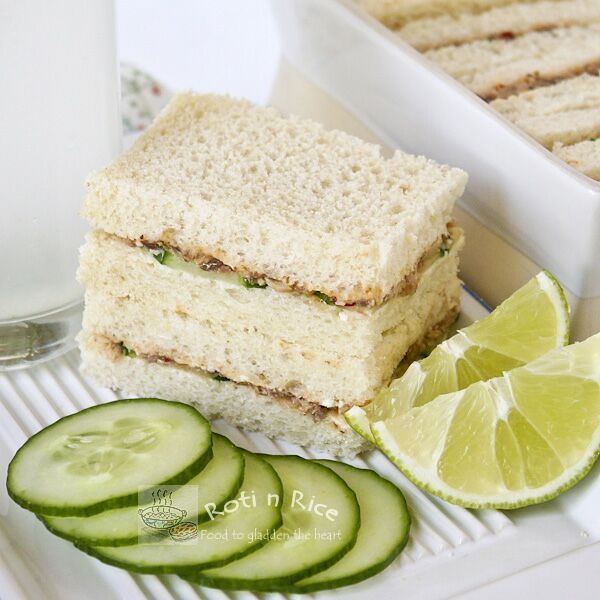 Sardine Sandwiches | Recipe | Rice, Cucumber and Malaysian ...