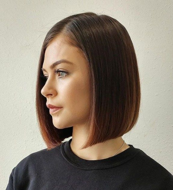 medium length blunt haircuts 50 spectacular blunt bob hairstyles in 2018 hair 5136