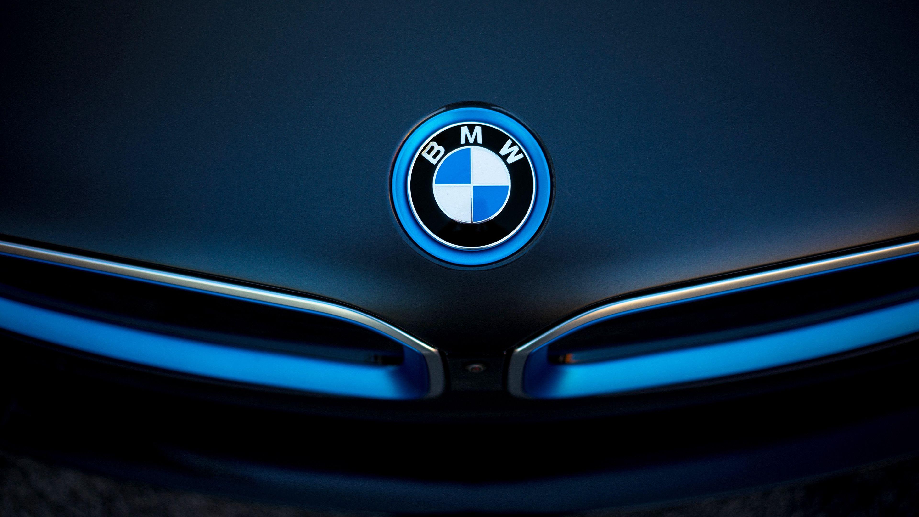 widescreen BMW Logo HD Wallpaper 3840x2160 Desktop Bmw