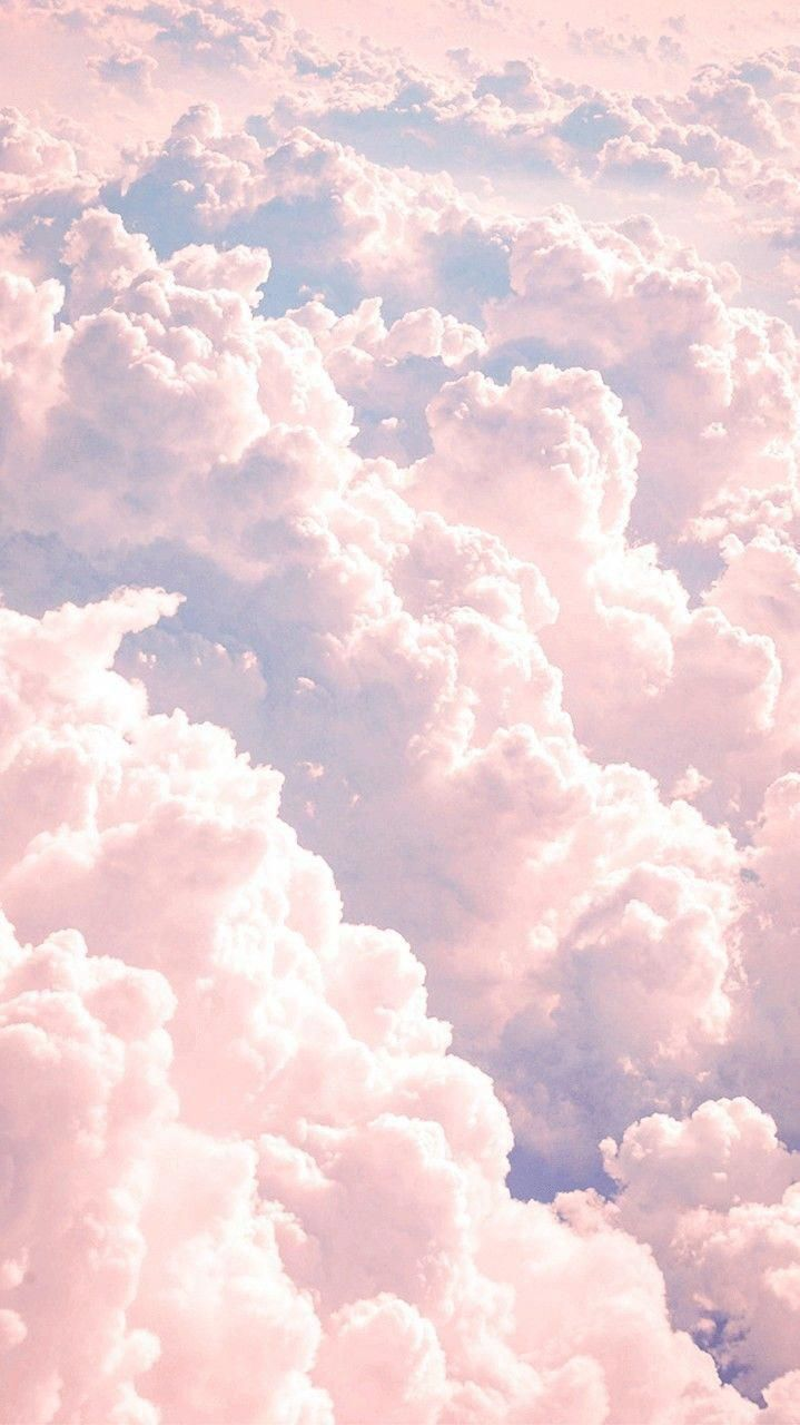 Aesthetic Iphone Wallpaper Pastel Clouds Pink Wallpaper Iphone