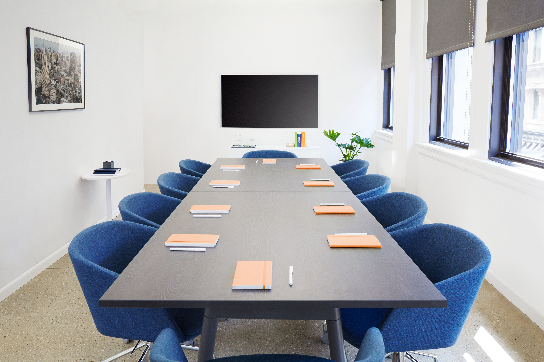 Dark Blue Pitch Meeting Chair Modern Office Furniture Office
