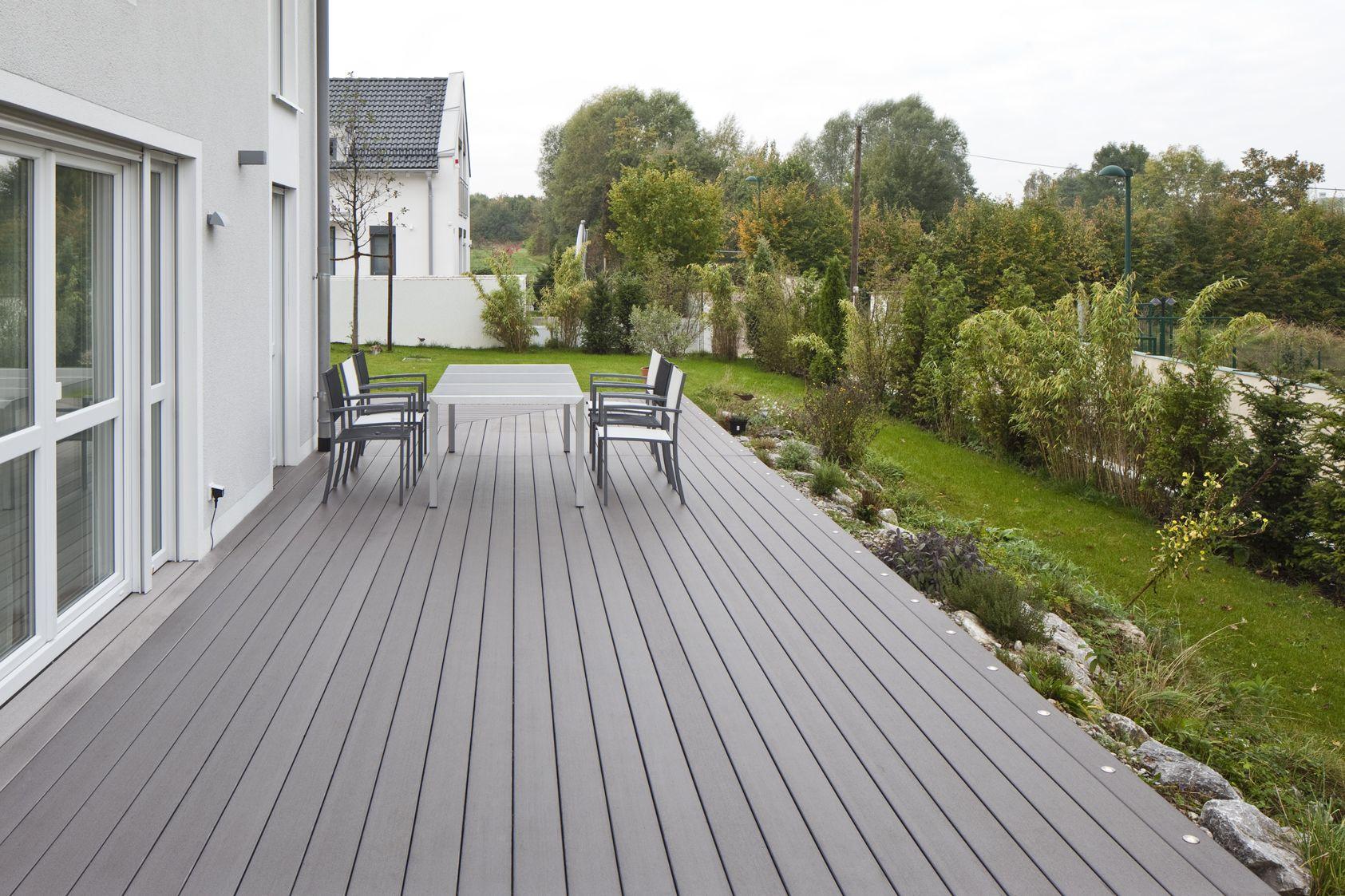 Fabulous WPC Timbertech grau | Anbau in 2019 | Garten terrasse, Terrassen TK04