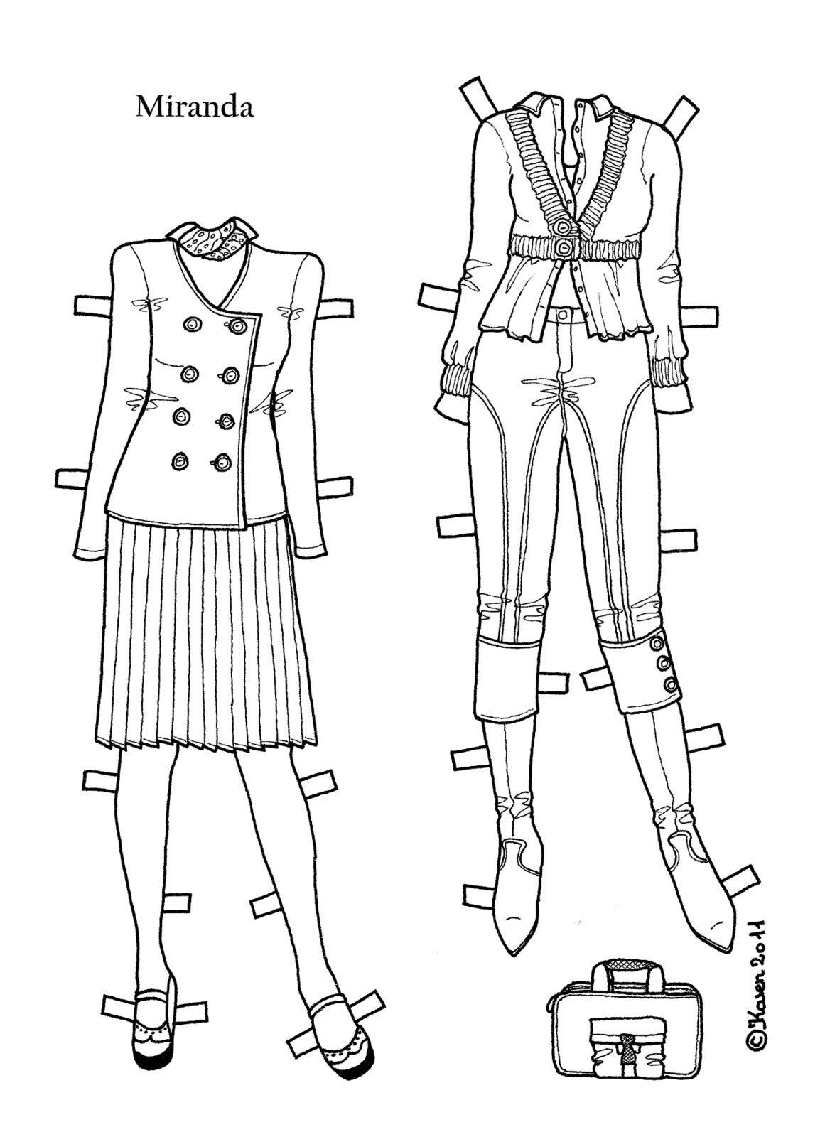 Karen`s Paper Dolls: Miranda                                                                                                                                                                                 More