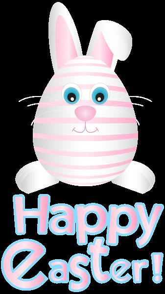 Easter Bunny Egg Pink Transparent PNG Clip Art Easter