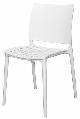 marcay resin outdoor stackable armless side chair white sc 2604 rh pinterest com
