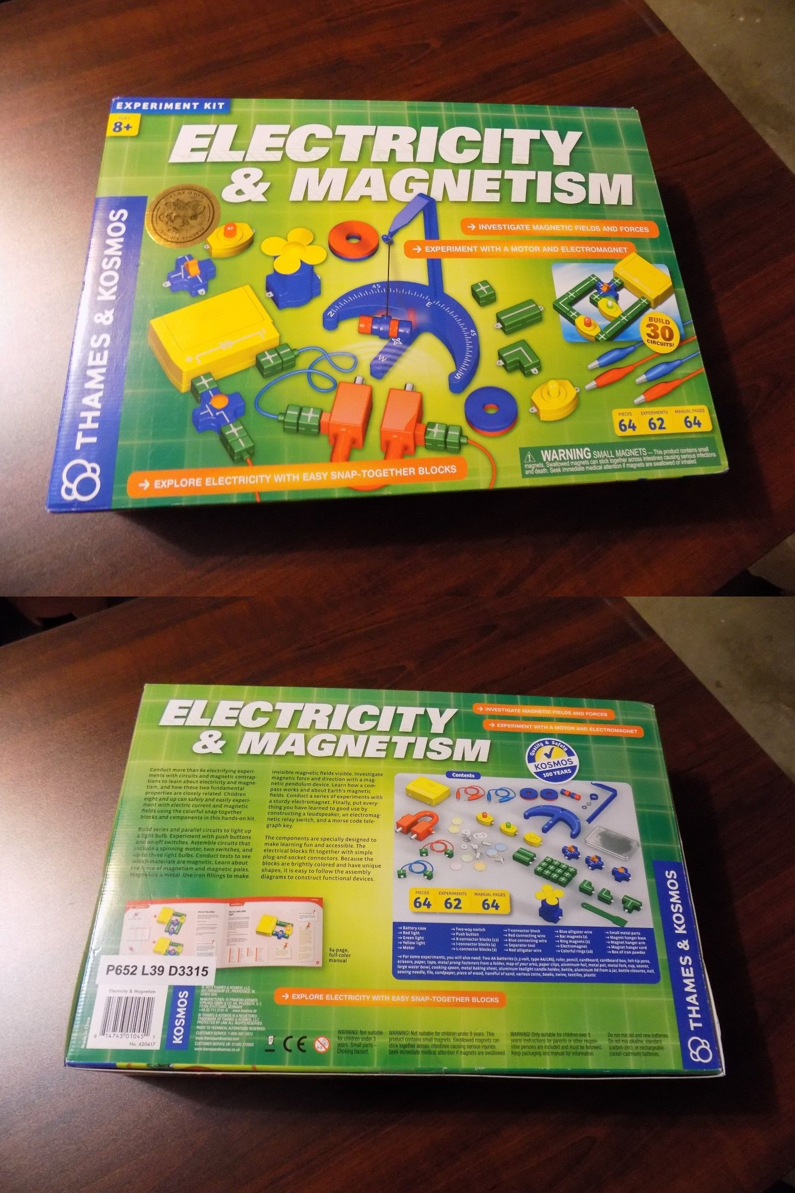 Elenco Scg125 Snap Circuits Green Alternative Energy Kit Learning Electronics And Electricity 158698 2 New Boxed Sets Of Jr Sc 100 Select Build Electronic Boards Buy It Now Only 3119 On E